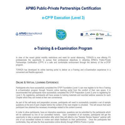 CP3P-Execution---eTraining1